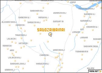 map of Sadozai Bainai