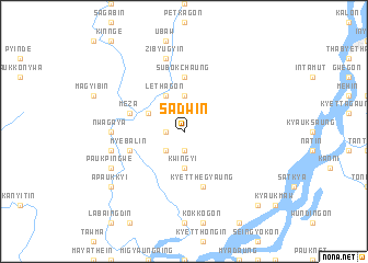 map of Sadwin