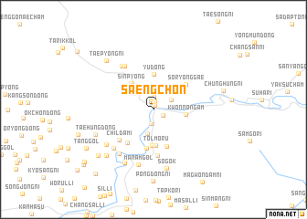 map of Saengch\