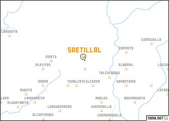 map of Saetillal