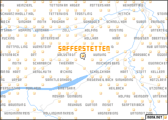 map of Safferstetten