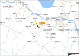 map of Şafḩah