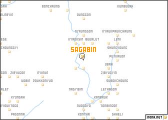map of Sagabin