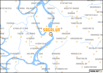 map of Sagalun