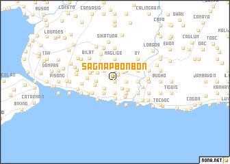 map of Sagnap Bonbon