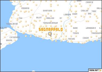 map of Sagnap Palo