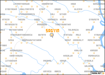 map of Sagyin