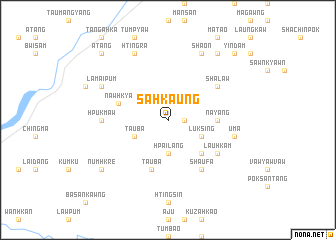 map of Sahkaung