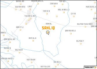 map of Şahlıq