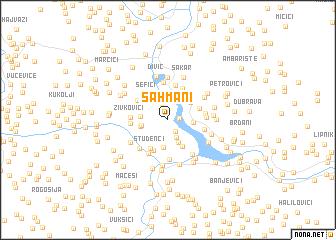 map of Šahmani