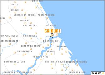 Pattani Thailand Map.Sai Buri Thailand Map Nona Net