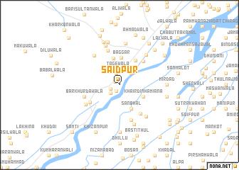 Saidpur Pakistan Map Nonanet - Saidpur map