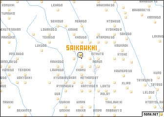 map of Saikawkhi