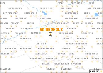 map of Sainerholz