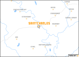 map of Saint Charles