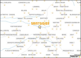 map of Saint-Didier