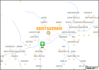 map of Saint-Germain