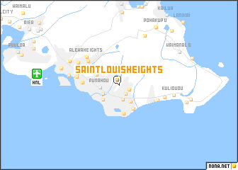 Saint Louis Heights United States USA Map Nonanet - St louis on us map