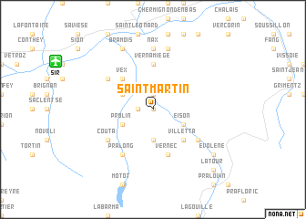 map of Saint-Martin
