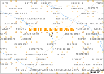 map of Saint-Riquier-en-Rivière