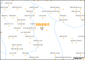 map of Saka-bin