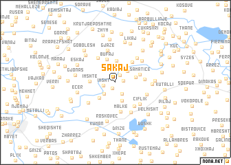 map of Sakaj