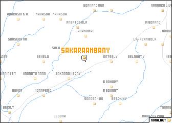 map of Sakara Ambany