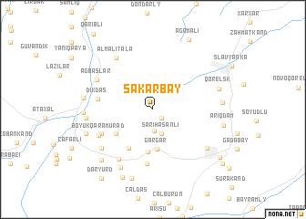 map of Şǝkǝrbǝy