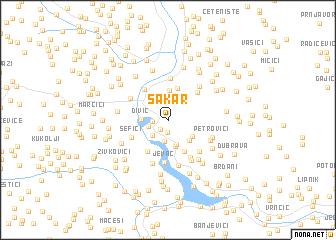 map of Sakar