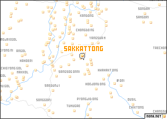 map of Sakkat-tong
