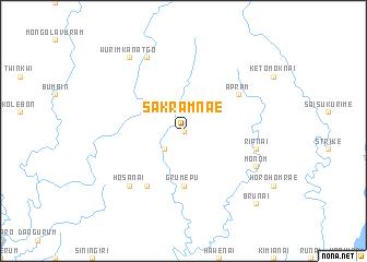 map of Sakramnae