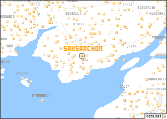 map of Saksan-ch\