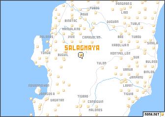 map of Salagmaya