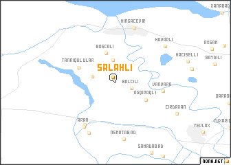 map of Salahlı