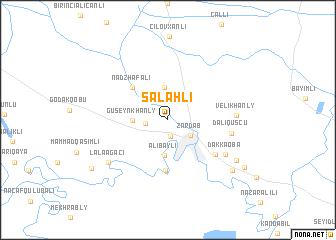 map of Salahlı