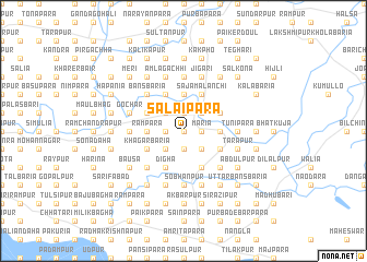 map of Salaipāra