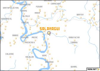 map of Salamagui