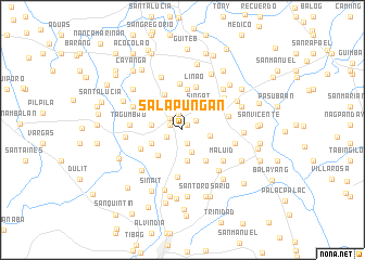 map of Salapuñgan