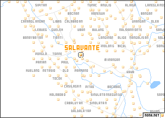map of Salavante