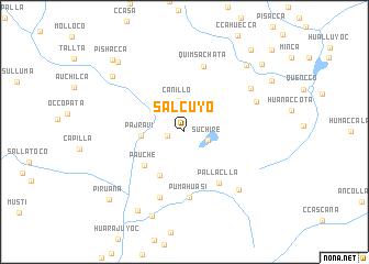 map of Salcuyo