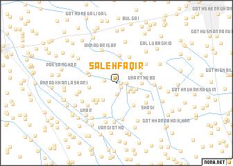 map of Sāleh Faqīr