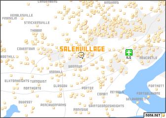 Salem Village United States USA map nonanet