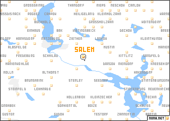 map of Salem