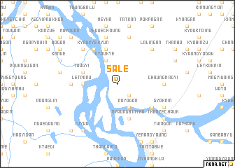 map of Sale