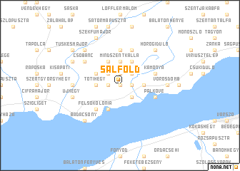 map of Salföld