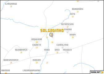 map of Salgadinho