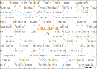 map of Salgueiral