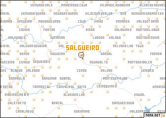 map of Salgueiro
