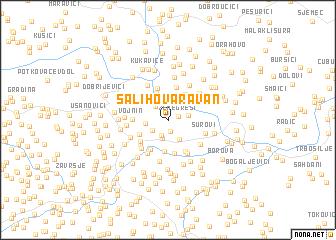 map of Salihova Ravan