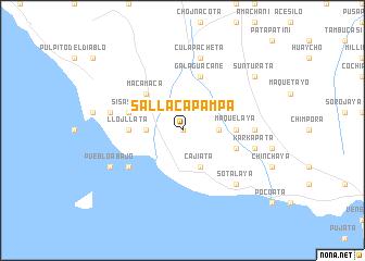 map of Sallaca Pampa